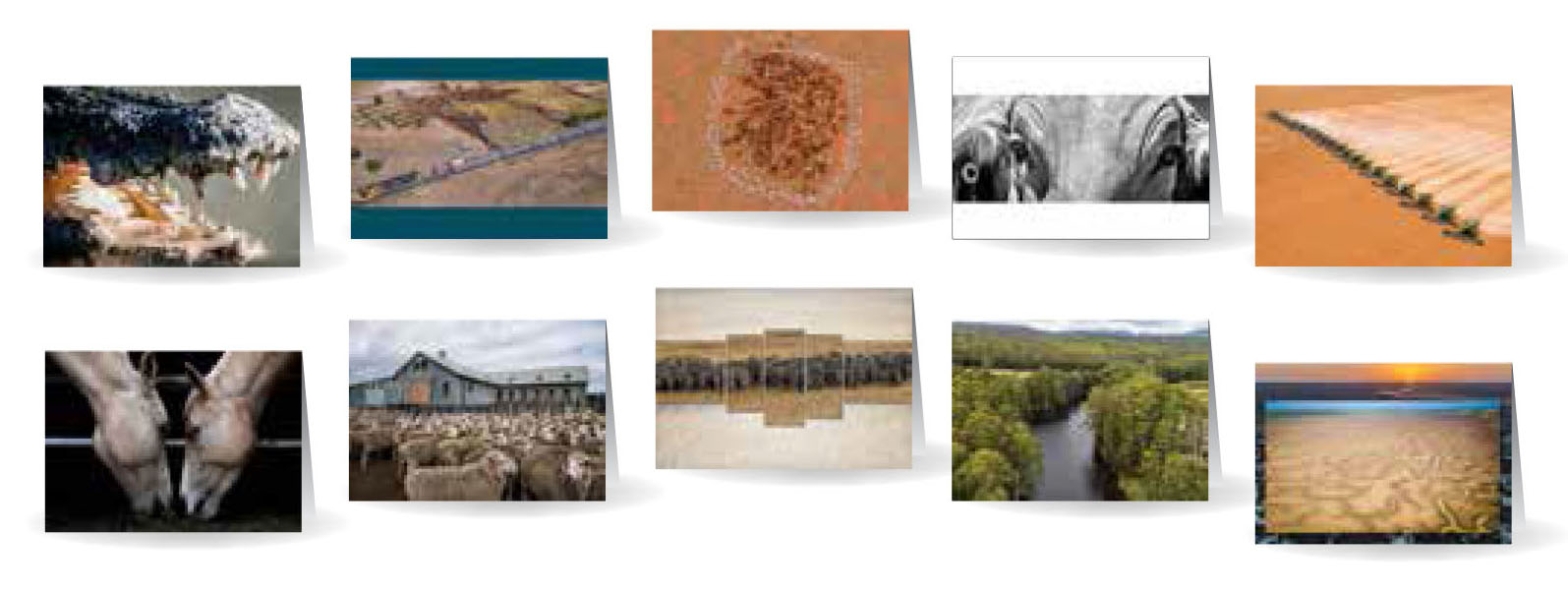 Greeting Cards - Beautiful images of Australia - Set 1