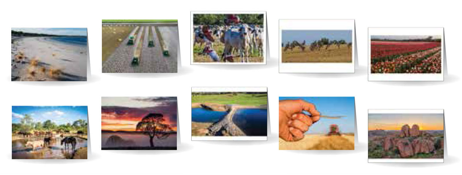 Greeting Cards - Beautiful images of Australia - Set 2