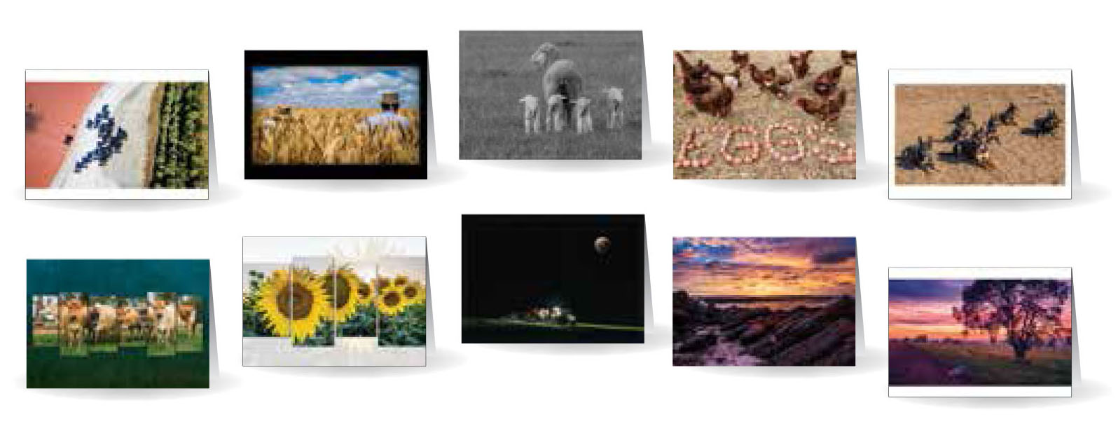 Greeting Cards - Beautiful images of Australia - Set 3