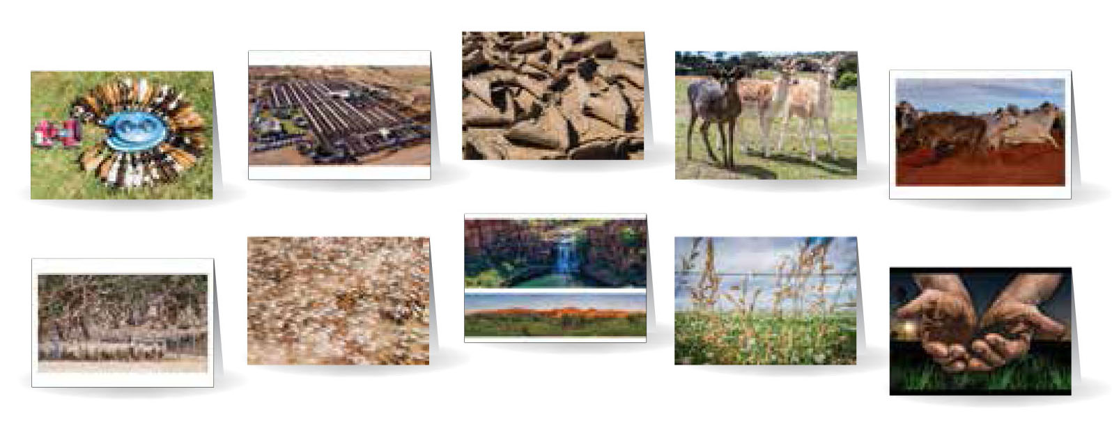 Greeting Cards - Beautiful images of Australia - Set 4
